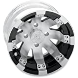 Vision Wheel Type 158 Buck Shot Rear Wheel - 12x8 - 4+4 Offset - 4/110 - Machined , Wheel Rim Size: 12x7, Rim Offset: 4+4, Bolt Pattern: 4/110, Color: Machined, Position: Rear 158128110BW4