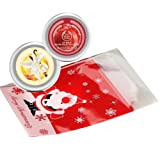 The Body Shop Vanilla Brulee Lip Balm 20ml + The Body Shop Frosted Cranberry Lip Balm 20ml