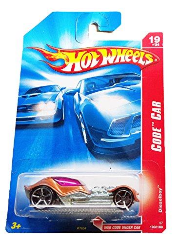 Hot Wheels 2007 Code Car Dieselboy #103 #19 of 24 - 1