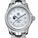TAG HEUER watch:Penn State TAG Heuer Watch - Women's Link with Diamond Bezel at M.LaHart