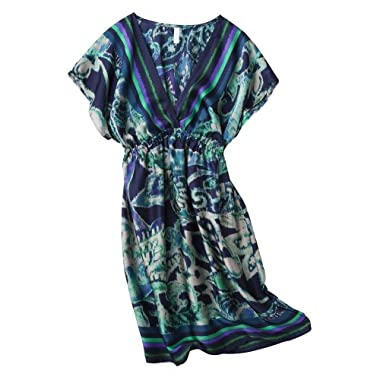 Product Image Xhila Stn Kmn Dress - Bluegrn Prnt