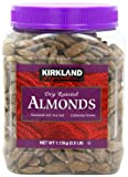Signatures Roasted Almonds Jar, Dry, 2.5lb