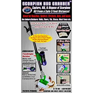 Scorpion Master Scorpion Bug Grabber Bug Stick (12 Pieces