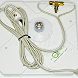 A1techstore 35DBI 3G 4G LTE TS9 SMA Antenna for HUAWEI B970 B593 B933 E398 E3276 E5776 Router Mobile Broadband