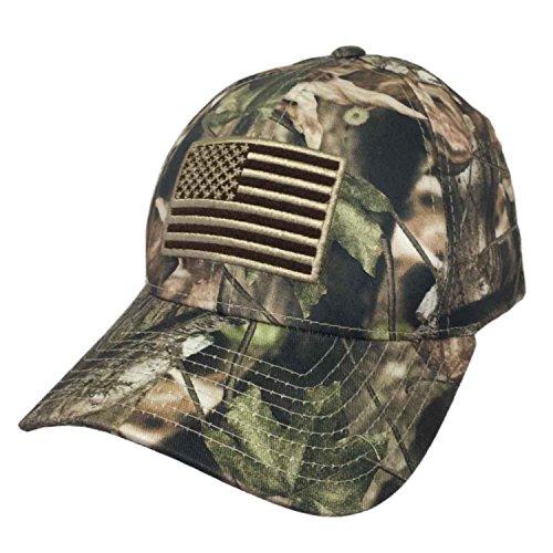 [United States Flag Side Logo Mesh Trucker Cap (One Size, Black/White)] (Betsy Ross Hat)