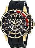 Swiss Legend Men's 10348-YG-01 Ocean Abyssos Analog Display Swiss Quartz Black Watch