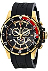 Swiss Legend Men's 10348-YG-01 Ocean Abyssos Analog Display Swiss Quartz Black Watch
