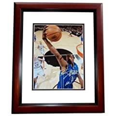 Dwight Howard Autographed Hand Signed Orlando Magic 11x14 inch Photo CUSTOM FRAME by Real Deal Memorabilia
