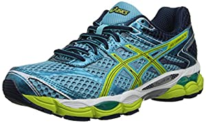 ASICS Women's Gel-Cumulus 16 Running Shoe,Turquoise/Sharp Green/Navy,6 M US