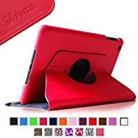 Fintie (Red)360 Degrees Rotating Stand Leather Case Cover for Apple iPad mini 7.9 inch Tablet With Auto Wake /...