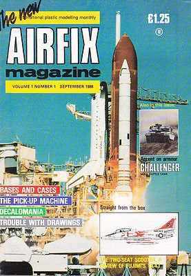 NEW AIRFIX MAGAZINE V1 N1 FIRST ISSUE, TWO SEAT