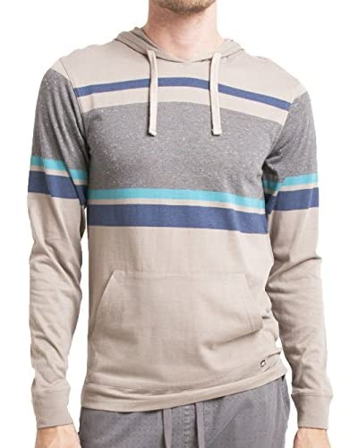 Micros Men's Heavy Long Sleeve Hoodie with Kangaroo Pocket