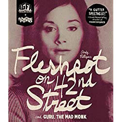 Fleshpot On 42nd Street + Guru, The Mad Monk [Blu-ray]