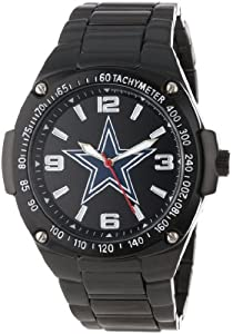 Game Time Unisex NFL-WAR-DAL Warrior Cowboys Warrior Series Analog 3-Hand Watch