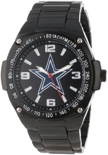 Game Time Unisex NFL-WAR-DAL Warrior Cowboys Warrior Series Analog 3-Hand Watch at Amazon.com