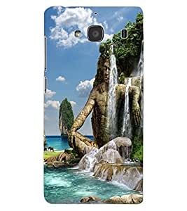ColourCraft Creative Image Design Back Case Cover for XIAOMI REDMI 2S