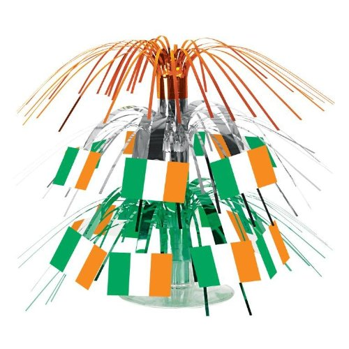 Irish Flag Mini Cascade Centerpiece Party Accessory (1 count) (1/Pkg)