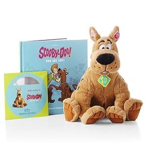Hallmark Interactive Plush PSB2118 Scooby-Doo Interactive Plush/Book/DVD