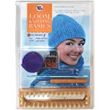 Authentic Knitting Board Loom Kniting Basics Kit Knitting Looms