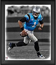 "Cam Newton Carolina Panthers Framed 20"" x 24"" In the Zone Photograph - Fanatics Authentic Certified - NFL Player Plaques and Collages"