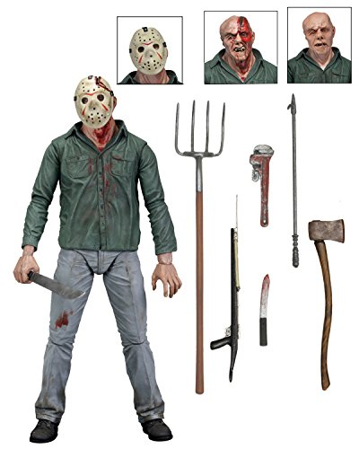 NECA Friday The 13th Scale Ultimate Part 3 Jason Action Figure, 7 by NECA