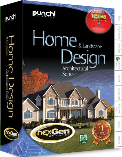 Punch architectural series with nexgen technology best for Nexgen home and landscape design