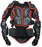 Motorrad-Teile Full Body Schutzjacke Spine Chest Getriebe Rüstung Off Road Racing Motorcross Schutzbekleidung Rot Größe XXL Fit For KTM Super Enduro Supermoto Cross Country