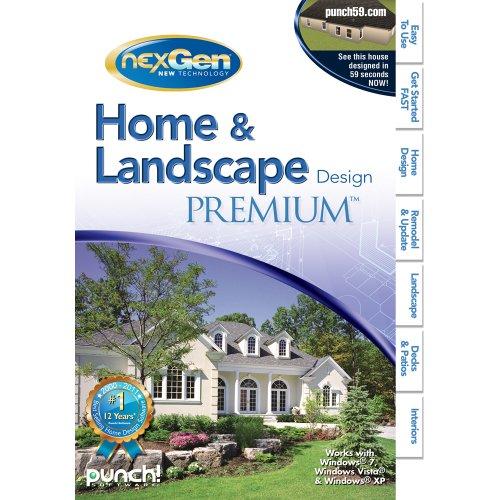 home design software ForHome Landscape Design Premium Nexgen3
