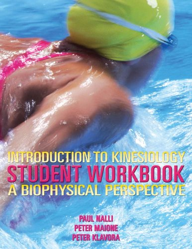 Introduction to Kinesiology Student Workbook
