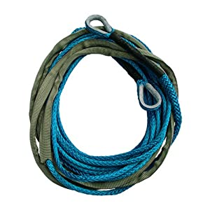 5/16 AmSteel Blue 50' Synthetic Winch Rope Extension