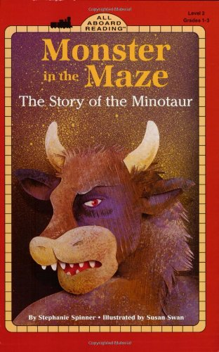 Monster in the Maze: The Story of the Minotaur (All Aboard Reading)
