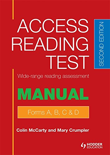Access Reading Test (ART) Manual