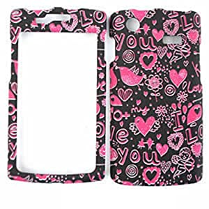 FOR SAMSUNG GALAXY S CAPTIVATE I897 HEARTS TE371 TEXTURE CELL PHONE