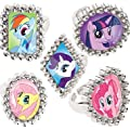 Amscan My Little Pony Jewel Ring Party Accessory
