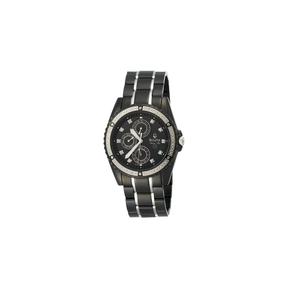 Bulova Mens 98E003 Marine Star Diamond Accented Watch