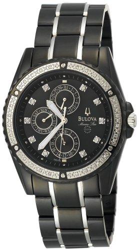 Bulova Men's 98E003 Marine Star Diamond Accented Watch