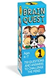 img - for Brain Quest Grade 1, revised 4th edition: 750 Questions and Answers to Challenge the Mind book / textbook / text book