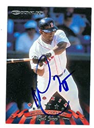 Michael Coleman autographed Baseball Card (Boston Red Sox) 1998 Donruss #292