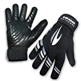 Tenn-Outdoors Men's All Weather Water/ Windproof Cycling Gloves - Black, Mediumby Tenn-Outdoors