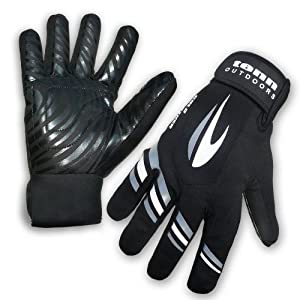 Tenn Cold Weather Waterproof Windproof Cycling Gloves - Black XS (Mens)