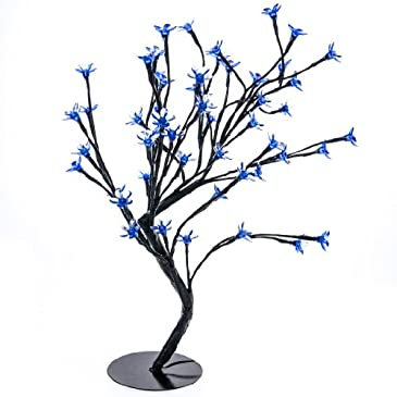 Light Blue Flower Tree