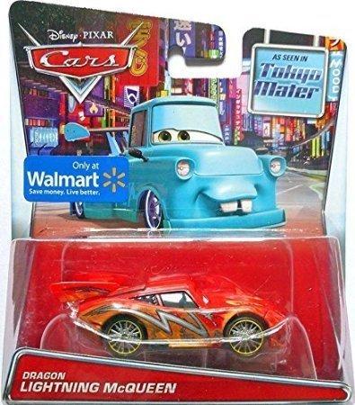 Disney Cars Dragon Lightning McQueen 1:55 Diecast Car
