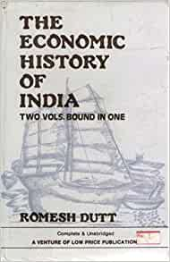 Economic history of india book written by
