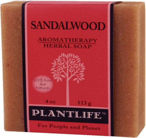 Sandalwood 100% Pure & Natural Aromatherapy Herbal Soap- 4 oz (113g) (Grapefruit Bergamot Conditioner compare prices)