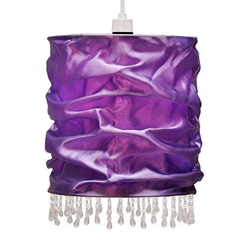 abat-jour-contemporain-pour-suspension-shabby-chic-faux-soie-en-violette-riche-avec-perles-claires-p