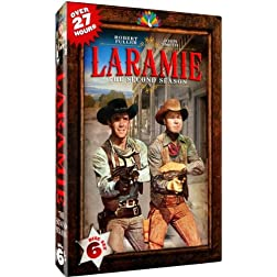 Laramie - The Second Season - 33 Hour long episodes