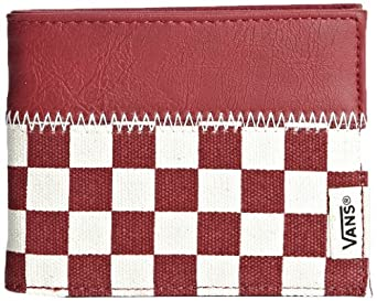 Vans Unisex-Adult Doheny Wallet Credit Card Case VUM76NZ Reinvent Red