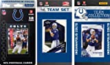 NFL Indianapolis Colts 3 Different Licensed Trading Card Team Sets