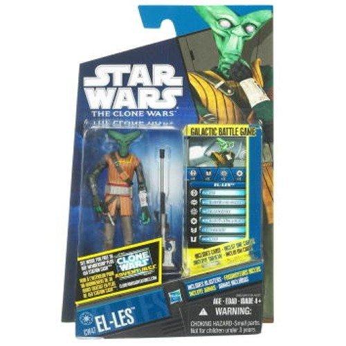 Star Wars 2011 Clone Wars Animated Action Figure CW No. 47 El-Les - 1