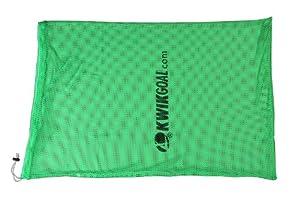 Kwik Goal Soccer Hi-Vis Equipment Bag, Fluorescent Green